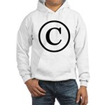 Copyright Symbol Hooded Sweatshirt
