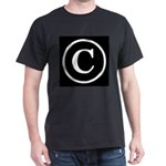Copyright Symbol Dark T-Shirt