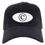 Copyright Symbol Black Cap