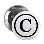 "Copyright Symbol 2.25"" Button (10 pack)"
