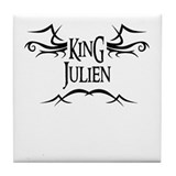 King Julien Tile Coaster