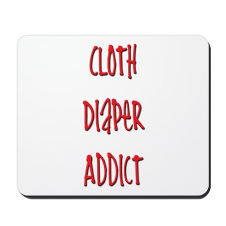 Cloth Diaper Addict Mousepad