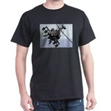 Apache Attack Black T-Shirt military gift