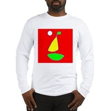 Sailing Sailboat Long Sleeve T-Shirt (RYGW)