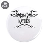 King Kayden 3.5 Button (10 pack)