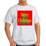 K9 Paw Christmas Tree Ash Grey T-Shirt