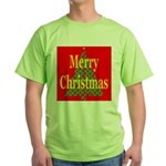 K9 Paw Christmas Tree Green T-Shirt