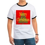 K9 Paw Christmas Tree Ringer T
