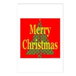 K9 Paw Christmas Tree Postcards (Package of 8)