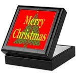K9 Paw Christmas Tree Keepsake Box