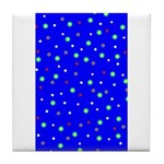 Polka Dot Party Tile Coaster /Trivet