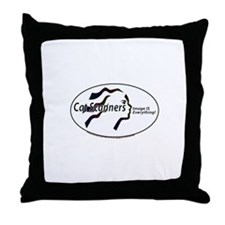 Cat Scanners Image is everyth Throw Pillow