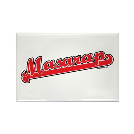 Masarap Rectangle Magnet