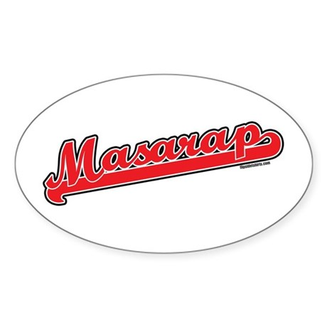 Masarap Oval Sticker
