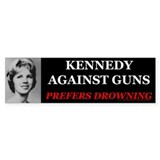 Kennedy Against Guns Bumper Sticker (10 pk)