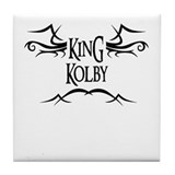 King Kolby Tile Coaster