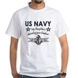 Navy - Daughter Defending Shirt