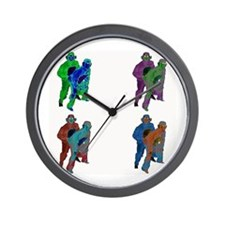Love Monkey Wall Clock