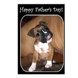 Happy Father's Day Boxer Postcards (Package of 8)
