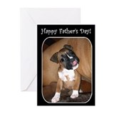 Happy Father's Day Boxer Greeting Cards (Pk of 10)
