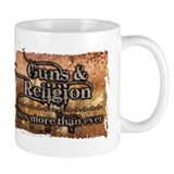Guns & Religion Small Mug