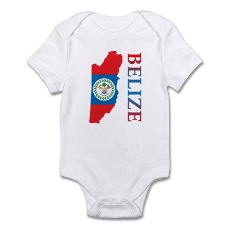 Map Of Belize Infant Bodysuit