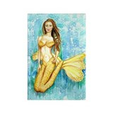 Cadence Mermaid Rectangle Magnet
