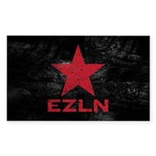 Zapatista Army Rectangle Sticker 50 pk)
