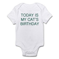 Cat's Birthday Infant Bodysuit