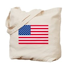 50 Star US Flag Tote Bag
