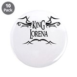 King Lorena 3.5 Button (10 pack)
