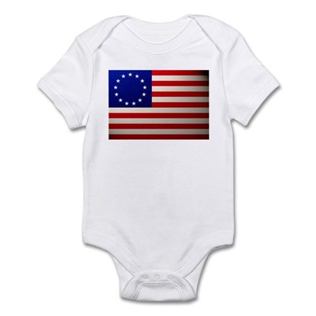 Betsy Ross Flag Infant Bodysuit
