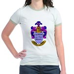 Drum Major - Queen of the Ban Jr. Ringer T-Shirt