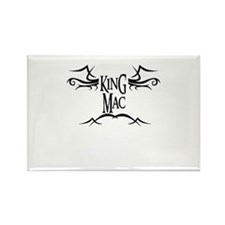 King Mac Rectangle Magnet