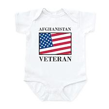 Afghanistan Veteran Infant Bodysuit