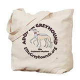 Elite Greyhound Adoption Tote Bag
