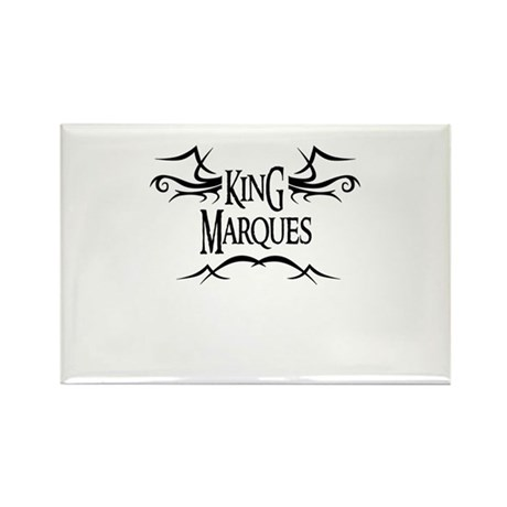 King Marques Rectangle Magnet (10 pack)