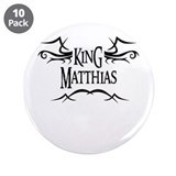 King Matthias 3.5 Button (10 pack)