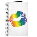 Big Rainbow Lips Journal