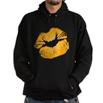 Big Orange Lips Hoodie (dark)