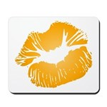 Big Orange Lips Mousepad