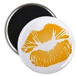 Big Orange Lips Magnet