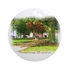 Foxborough Common Ornament (Round)