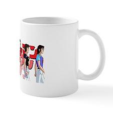 Gatchaman Team Mug