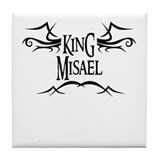 King Misael Tile Coaster
