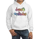 Deaf Pride Pastel Hooded Sweatshirt