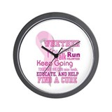 Find A Cure Wall Clock
