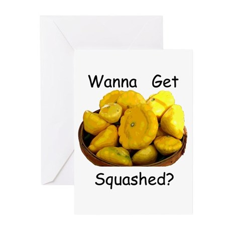 Get Squashed Greeting Cards (Pk of 10)