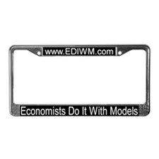 Economists Do It With Models License Plate Frame