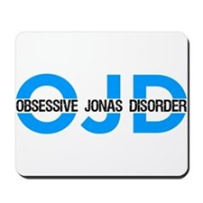 Blue OJD Mousepad